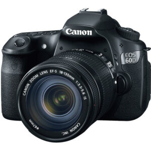 Canon EOS 60D DSLR Camera with 18-135mm Lens