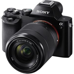 Sony Alpha a7 Mirrorless Digital Camera with FE 28-70mm & FE 50mm Lenses (UK USED)