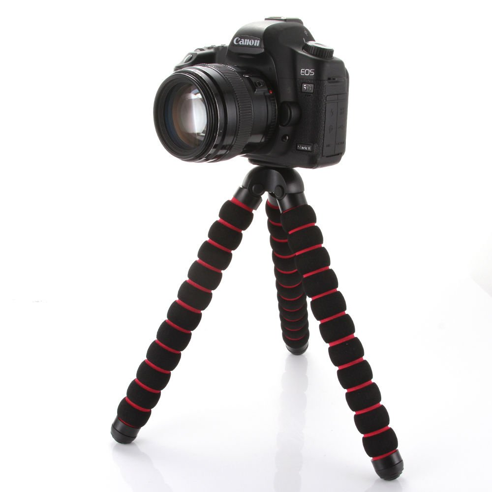 Focus Flexible Portable Tripod Stand Gorillapod for DSLR, Gopro Action Camera Large Size