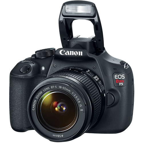 Canon EOS Rebel T5 DSLR Camera with 18-55mm Lens (UK USED)