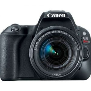 Canon EOS Rebel SL2 DSLR Camera with 18-55mm Lens (UK USED)